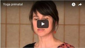 Miniature vidéo yoga prénatal
