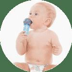 Photo - bébé avec micro