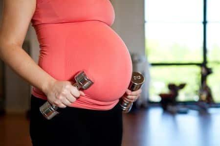 Photo - exercices pendant la grossesse