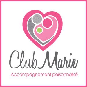 Logo - Club Marie : Accompagnement personnalisé