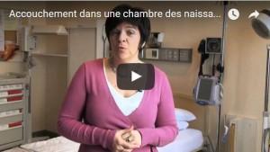 Miniature vidéo accouchement dans une chambre des naissances