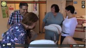 Miniature vidéo accouchement naturel en milieu hospitalier
