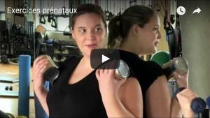 Miniature vidéo exercices prénataux