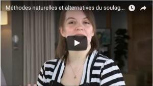 Miniature vidéo méthodes naturelles et alternatives du soulagement de la douleur