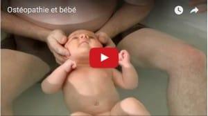 Miniature vidéo ostéopathie et bébé