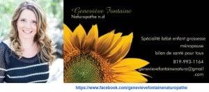 Photo - Geneviève Fontaine, naturopathe