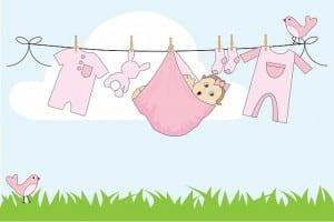 Image - articles pour le trousseau de bébé