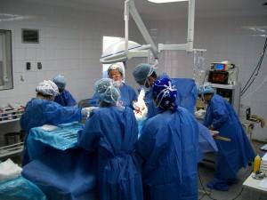 Photo - bloc opératoire naissance par césarienne