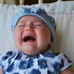 Photo - bébé en pleurs : les vraies coliques