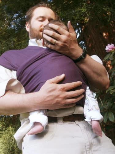 Photo - Porte-bébé écharpe extensible