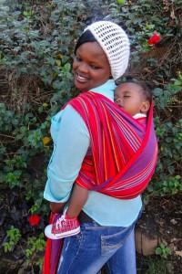 Photo - Porte-bébé écharpe tissée