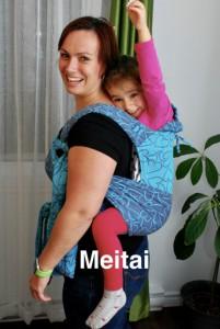 Photo - Le portage avec un porte-bébé Meitai
