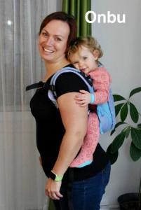 Photo - Le portage avec un porte-bébé Onbu