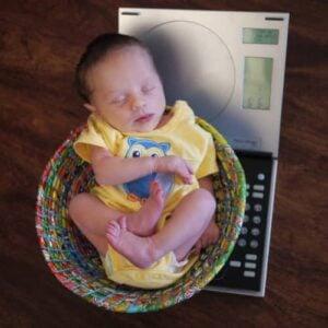 Photo - La prise de poids chez le nouveau-né