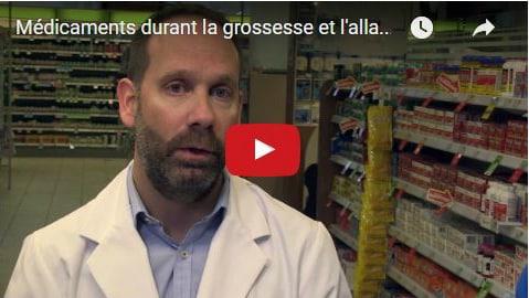Photo - Vidéo de cours prénataux sur les médicaments durant la grossesse et l'allaitement avec Jean-Luc Trottier, pharmacien