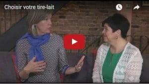 Photo - Vidéo de cours prénataux Choisir votre tire-lait avec Régine Lalancette de Medela Canada meilleur tire-lait