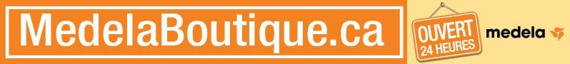 Publicité - Medela - MedelaBoutique.ca - Ouvert 24 heures