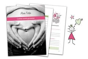 Cahier santé-grossesse gratuit. Un outil de suivi de grossesse pratique et convivial. Téléchargez-le!