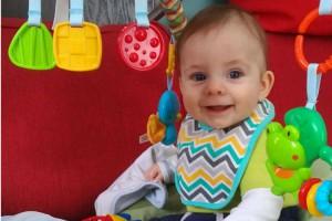 Bébé Émile, fils de Chantal et Rachel maman collaboratrice - Mamans et papas collaborateurs