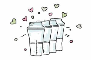 Image - Sacs de conservation du lait maternel : tableau de conservation du lait maternel gratuit à imprimer