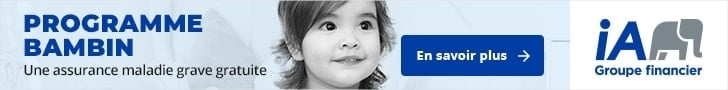 publicité industrielle Alliance programme Bambin